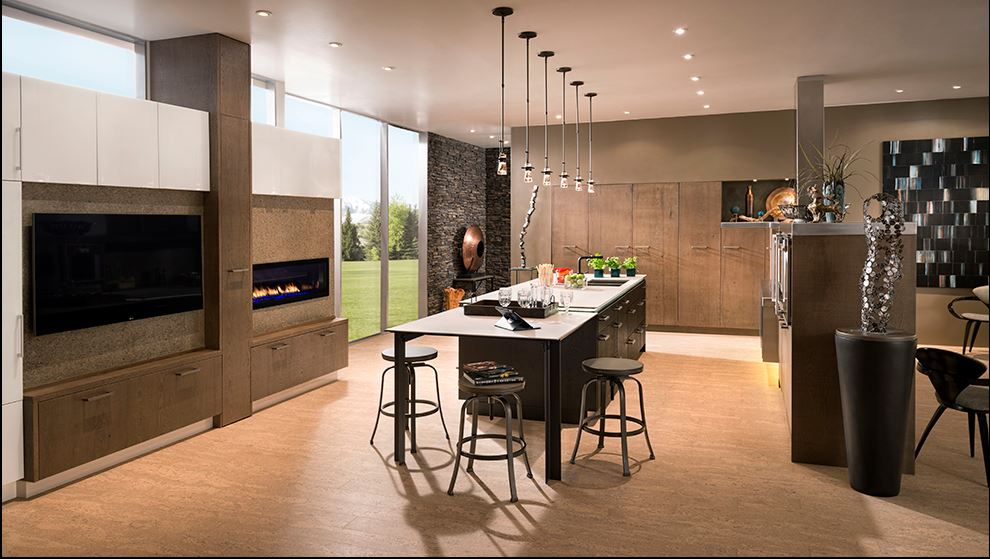 The best kitchen remodel plans always incorporate a flexible plan for lighting.