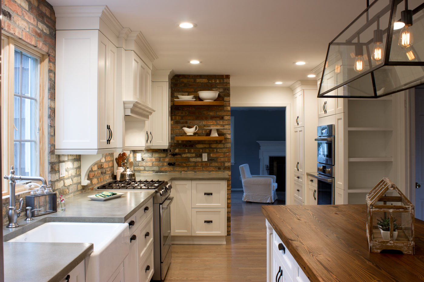 Here is a general how-to on building a green kitchen