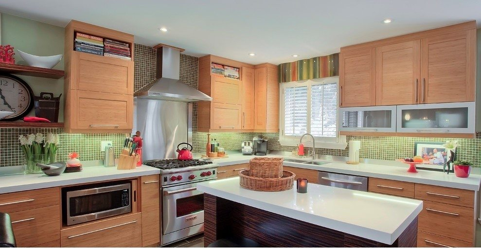 Build the green kitchen of your dreams with bamboo