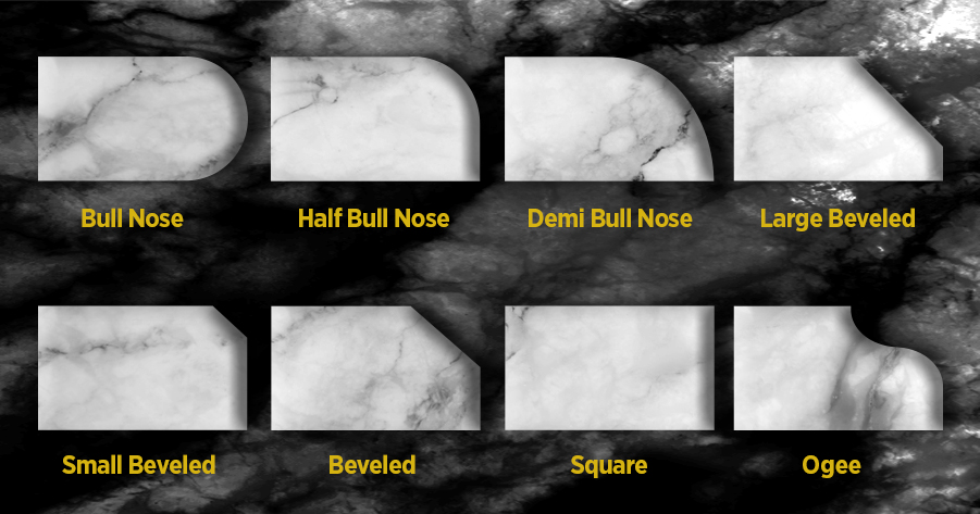Types of Countertop Edges