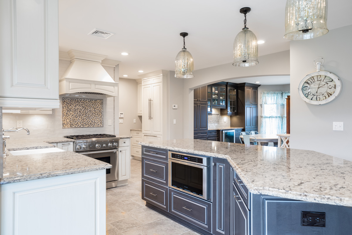 New Kitchen Cabinets in Baiting Hollow Home