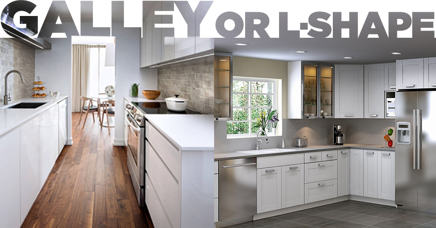 Galley Or L Shaped Kitchen Which One Should You Choose